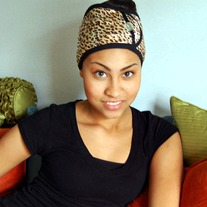 Diva Hair Wrap- Cheetah - Thumbnail 3