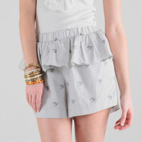 Karen Walker Ruffle Tennis Shorts XS