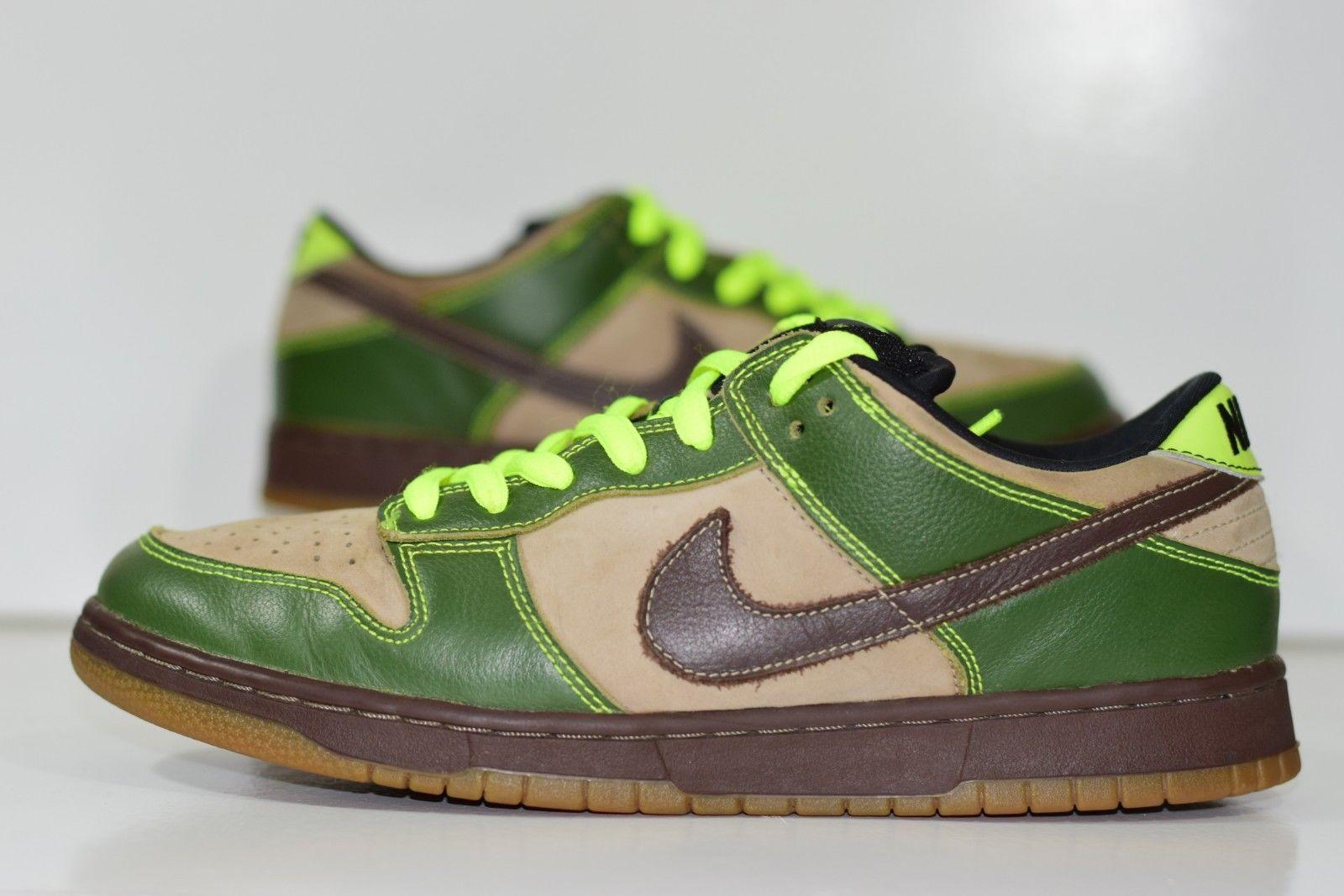 watch 9e638 6cc61 Size 10.5  2004 Nike Dunk Low Pro SB JEDI Star Wars Yoda 304292-