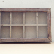 Wood Compartment Shadowbox - Thumbnail 4