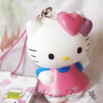 Squishy Hello-Kitty Mascot #4