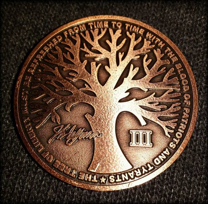 Mlccw Challenge Coin Tree Of Liberty On Storenvy