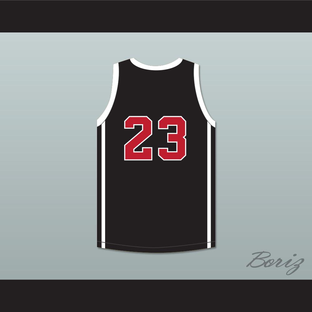 Lebron James 23 Ohio Shooting Stars AAU Black Basketball Jersey More Than A  Game dc71569fb