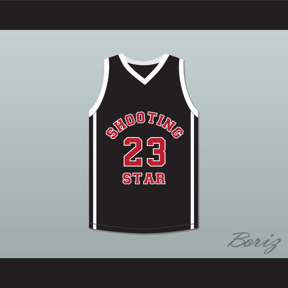Lebron James 23 Ohio Shooting Stars AAU Black Basketball Jersey More Than A  Game - Thumbnail ... 84f67124a