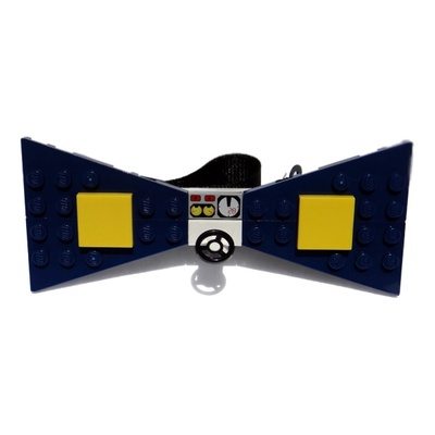 Lego® navy fast and furious bow tie