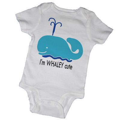 I'm whaley cute baby bodysuits & tot tees