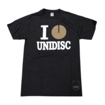 I Heart Unidisc - Dark Grey