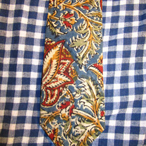 Polo Floral Cotton Tie