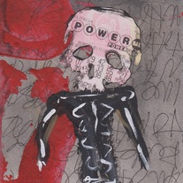 POWER FIVE - original painting by Matt Deterior