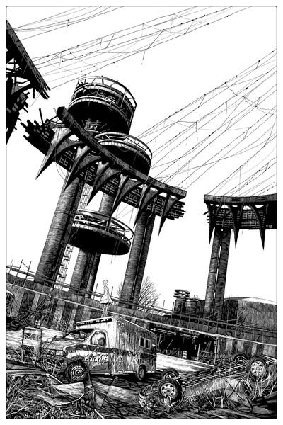 """""""1964 worlds fair pavillion"""" keyline"""