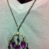 Sarah Coventry Vintage Wisteria Necklace