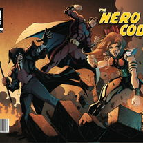 Hero Code issue #1 - Limited variant cover