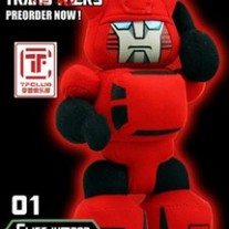 Cute Hand Made Plush Transformers Doll, Cliff Jumper