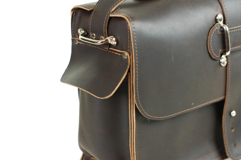 31ed042a87 Men s Leather Satchel - Leather Messenger Bag - Leather Laptop Bag - Rustic  Industrial Design ...