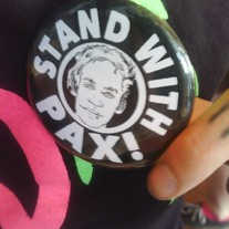 STAND WITH PAX! 2.5 inch button