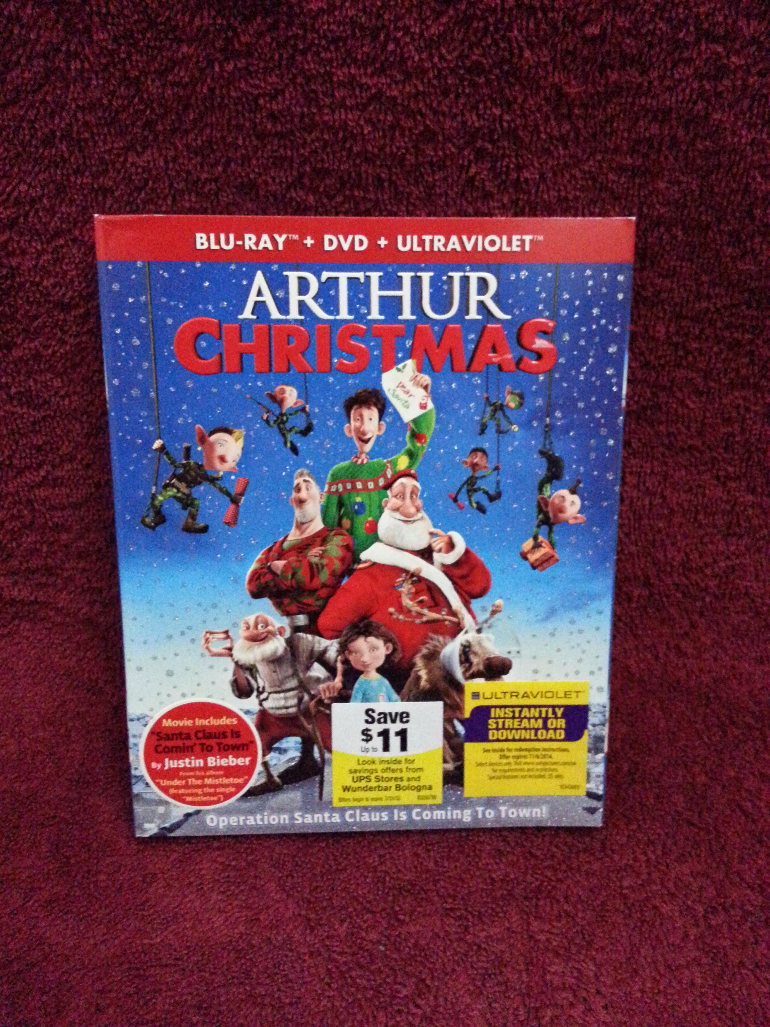 arthur christmas blu ray - Arthur Christmas Dvd