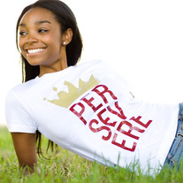 "Girls ""Persevere"" T-Shirt"