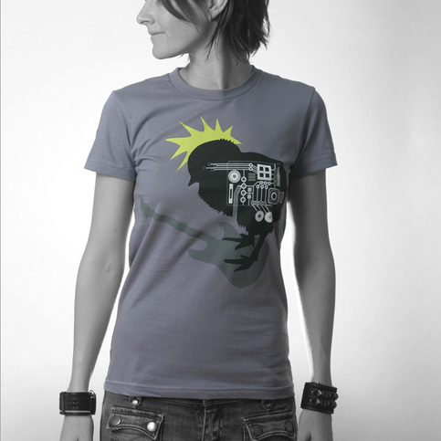 Women's Rock Chick - Grey