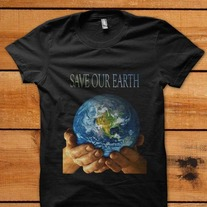 Save_20our_20earth_20black_20t-shirt_medium