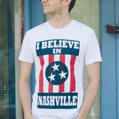 I believe in nashville - original (white)