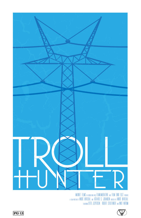 Troll Hunter- Minimal Film Poster Design