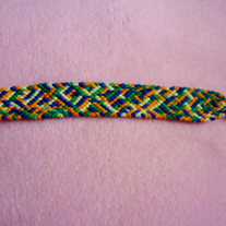 Crazing Paving Braided Friendship Bracelet!