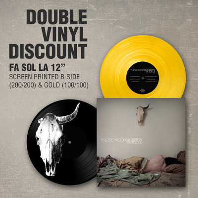 Those mockingbirds - fa sol la 12'' ep (double vinyl)