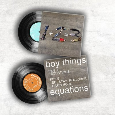 Boy things - equations 7'' ep package