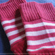 Pink Striped Arm Warmer - Thumbnail 2