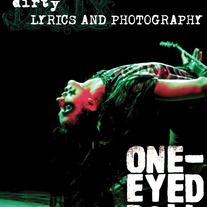 """Dirty: Lyrics and Photography"" Book by Kimberly Freeman *AUTOGRAPHED AND BITTEN*"