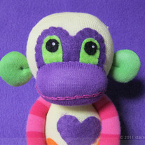 Sasha Best Friend Sock Monkey Handmade Plush !SALE!