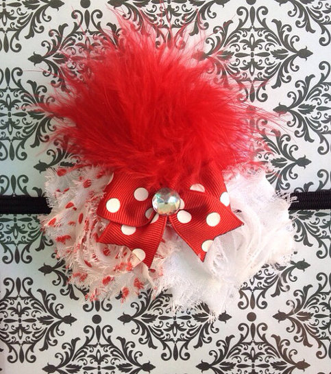 shabby chic headband rockin rebel boutique online store powered by storenvy. Black Bedroom Furniture Sets. Home Design Ideas