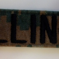 USMC Woodland Name Tape