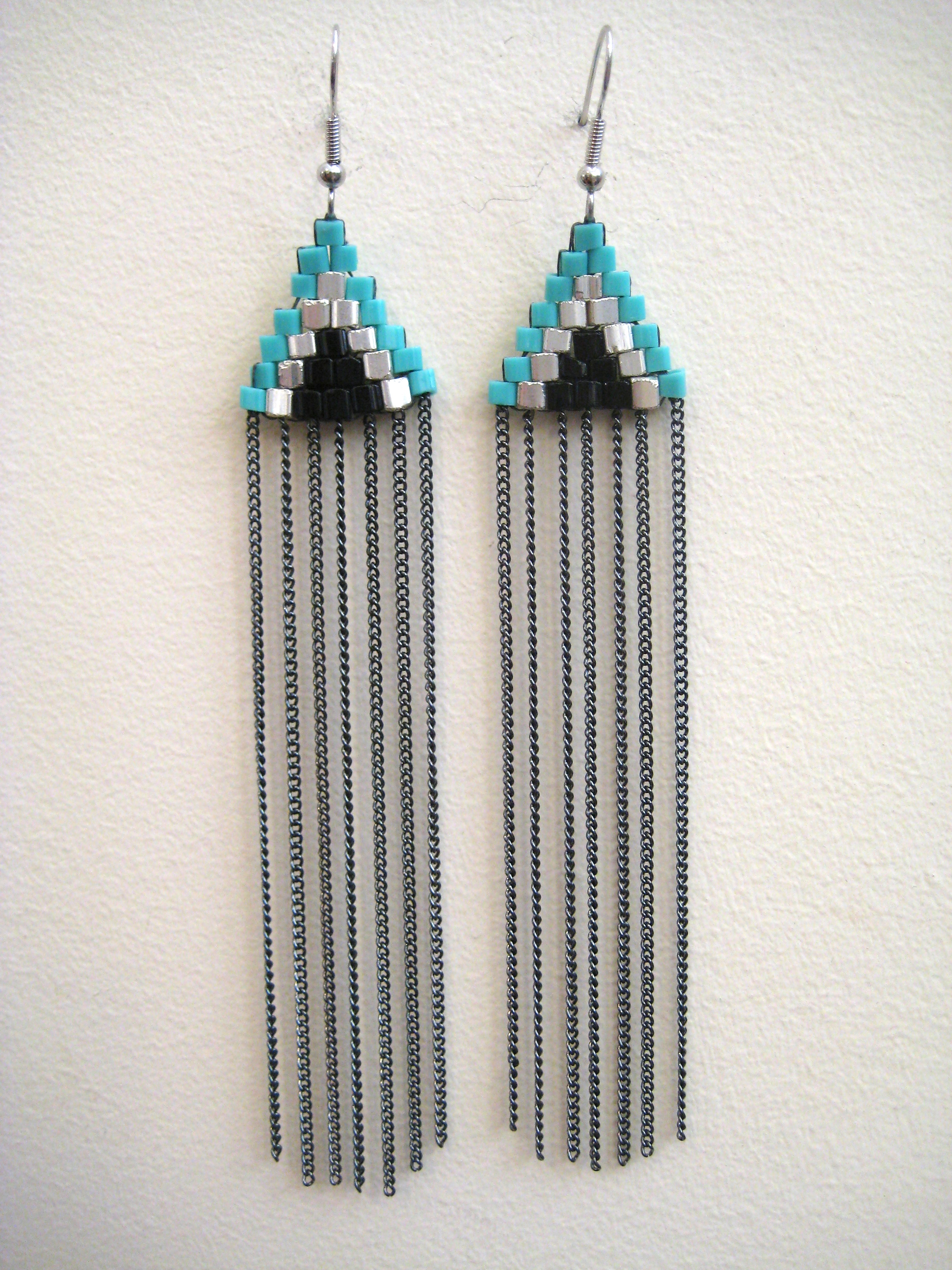 panacea fringe resort earrings beaded jewelry product