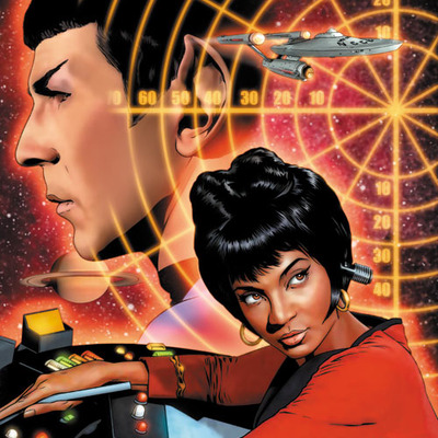 Star trek: the original series: burden of knowledge #2 artist print