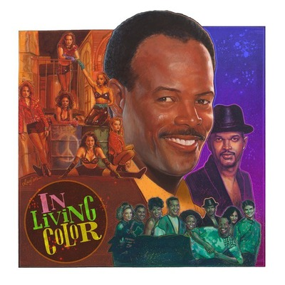 "In living color tribute poster - 24"" x 24"" limited edition giclée print"