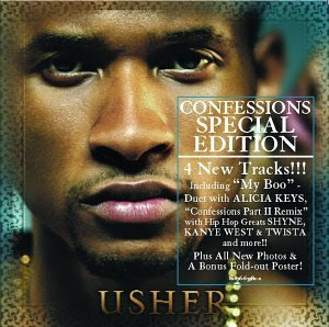 Usher Confessions Special Edition Album Cover 3 Dollar Cd's | Usher ...