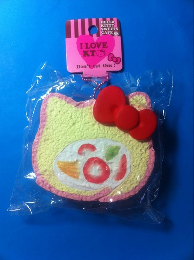 Hello Kitty Squishy Cake And Stand : The Kawaii Hut Hello Kitty Vanilla Cake Roll Squishy Online Store Powered by Storenvy