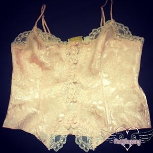 Vintage Dolly Night Top