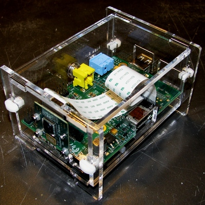 Raspberry pi and camera enclosure