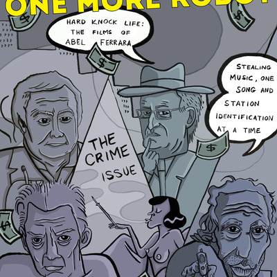 One more robot issue 12 - the crime issue