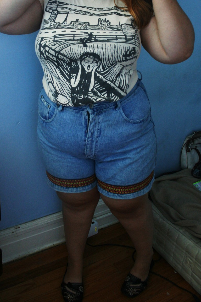 Size 16 High Waisted Shorts