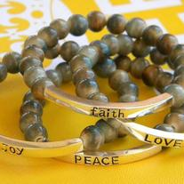 Earth Affirmation Bracelets