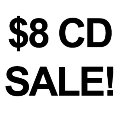 $8 physical cd's