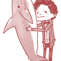 Doctor and Shark Charm