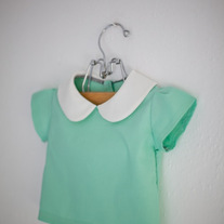 Mini rosemary blouse - solid