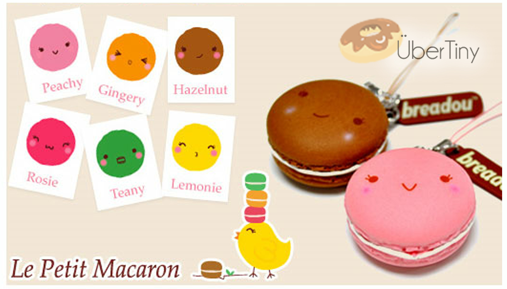 Breadou Le Petit Macaron Squishy- Original and in Packaging with Tag ? Uber Tiny ? Online Store ...