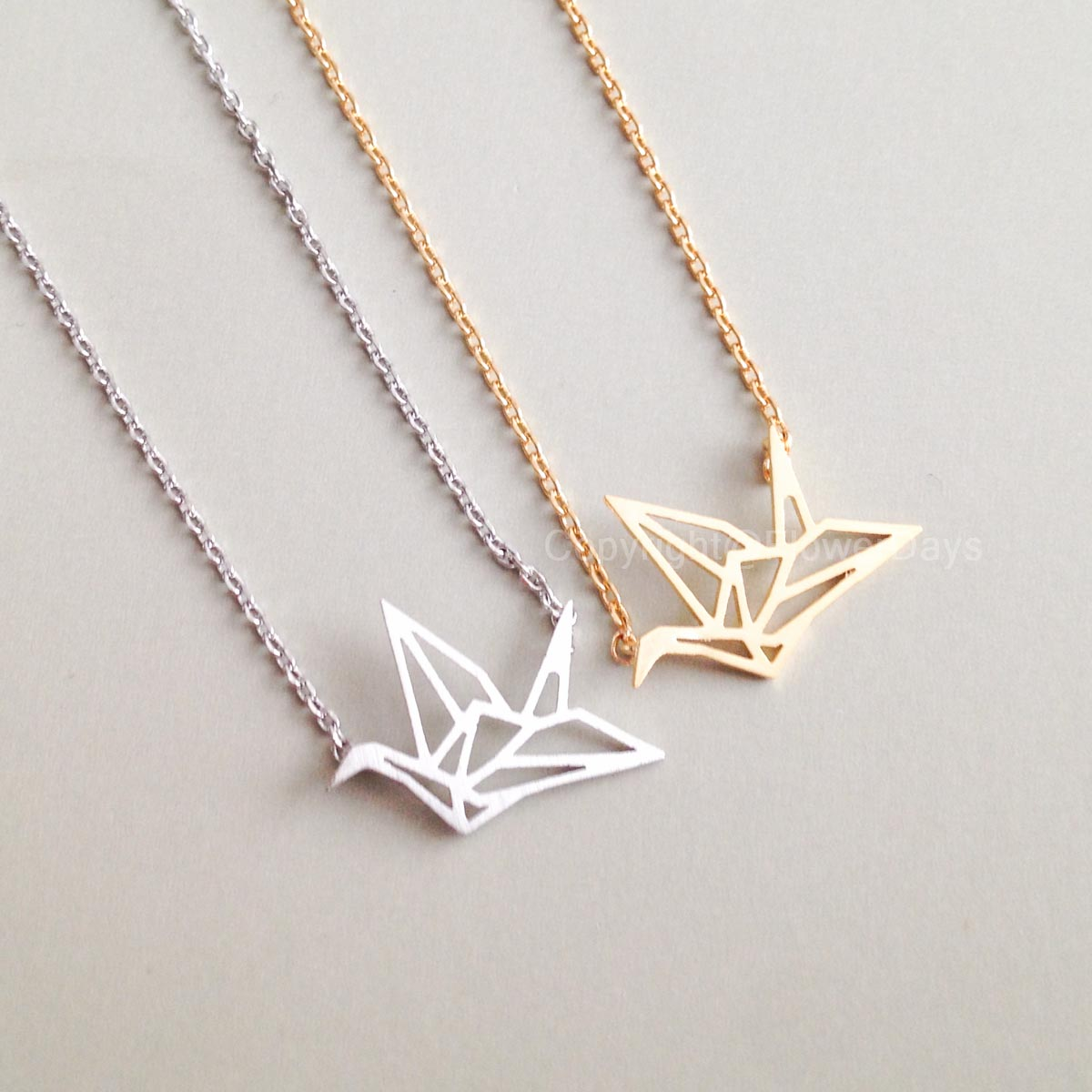 Origami Crane Necklace on Storenvy - photo#8