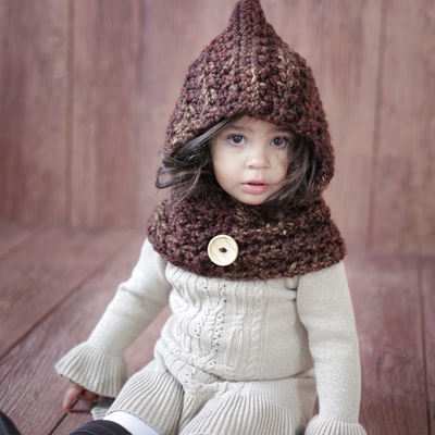 Crochet Pattern Hood Cowl The Ginger Jocelyn Designs Online
