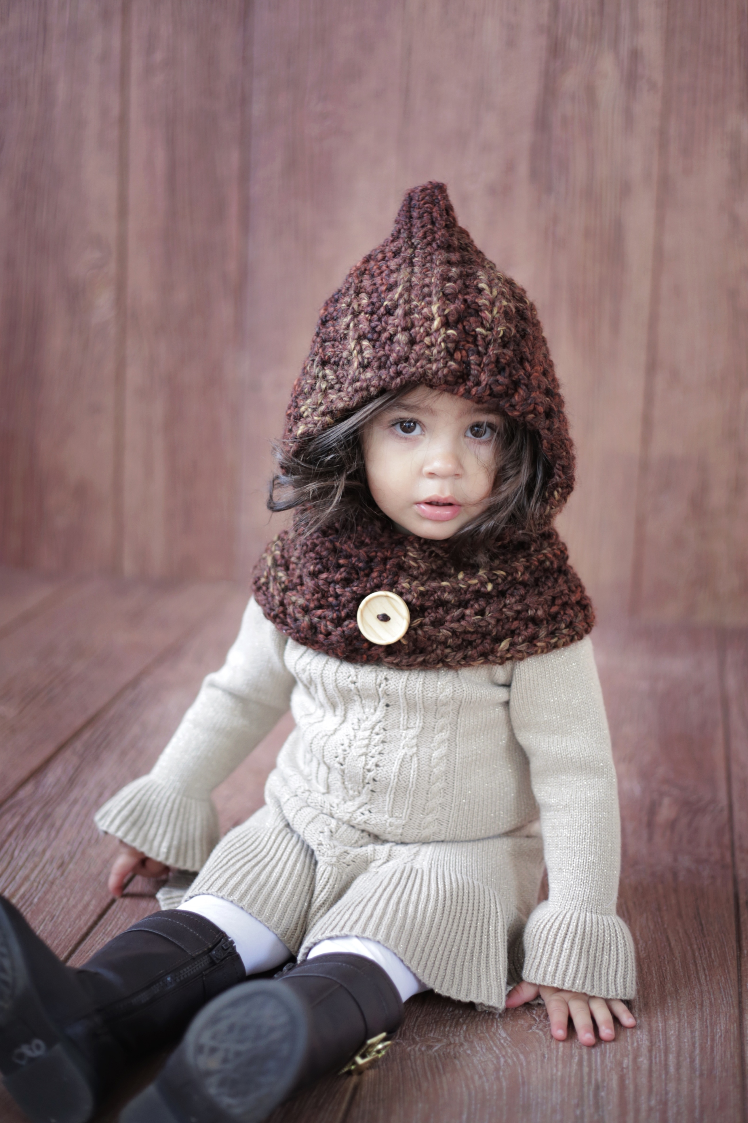 CROCHET PATTERN Hood Cowl The Ginger · Jocelyn Designs · Online ...